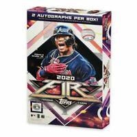 New Sealed 2020 Topps MLB Fire Baseball Trading Card Hobby Box *2 Autos Per Box*