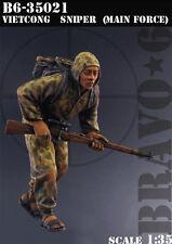 BRAVO-6 35021 Vietcong Sniper (Main Force) 1/35 RESIN FIG.