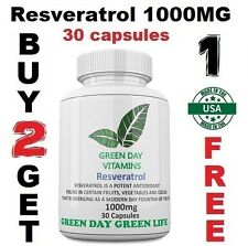 Resveratrol 1000MG Polygonum Cuspidatum Anti Aging Made USA Free shipping