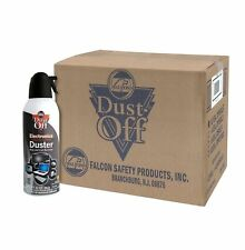 Falcon Dust-Off 10oz Professional Safety Compressed Air Duster 12-PACK BRAND NEW