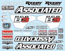 Kit Adesivi per Associated RC8B3 RC8B3.1 - 81270