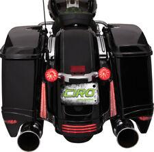 Ciro LED Black Filler Panel Lights For Harley Davidson 14-17 40023