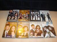 Bones TV Series 1-4 & 6-9 DVD Lot Seasons 1 2 3 4 6 7 8 9 Temperance Brennan