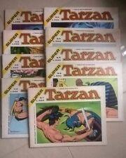 FUMETTO SUPER TARZAN DAL N. 1 AL N. 9 1975