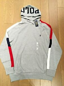 Polo Ralph Lauren POLO Pullover Sweatshirt Hoodie LIMITED EDITION Gray Big&Tall