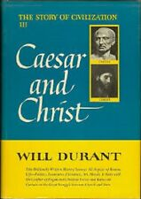 Will Durant~CAESAR AND CHRIST~1ST(19TH)/DJ~RAREST SIGNED COPY