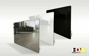 Infrarotheizung Spiegel Glasheizung Wandheizung 400 - 800 W Thermostat int. HDW