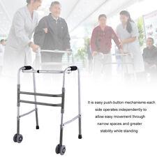 Medical Equipment Health Care Foldable Adjustable Old Walking Aid Walker USA