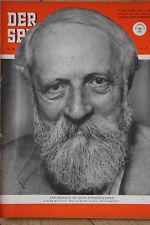 Der Spiegel - Nr. 43 vom 21. Oktober 1953 21.10.1953 65. Geburtstag Martin Buber