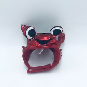 Hyde and EEK! Cat Crab Hat One Size Red Cat Halloween Costume NWT