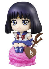 Sailor Moon Petit Chara Land Trading Figure 6 cm Sailor Saturn Megahouse