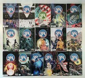 🔥LETTER 44 COMIC LOT ONI 1-13, 18, 20 VARIANTS: 2ND PRINT+ B&W Optioned 1st APP