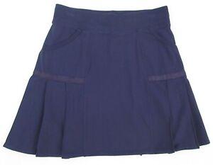 Athleta Any Sport Pleated Skort Purple Size ST Small Tall MINT CONDITION!