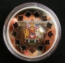 2 oz Evolving a Nation Silver Laser cut Maple Canada 2018 9999 RCM Coin $30