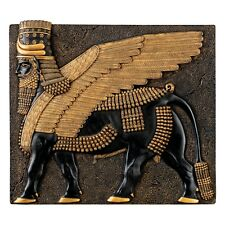 Assyrian Winged Bull Sculpture of Khorsabad Palace Replica Reproduction