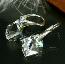 Ohrringe Silber 925 Original Swarovski Elements Cosmic Stein Kristall klar