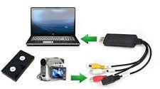 VHS to USB Converter PC Adapter TV Audio Video DVD USB 2.0 WinXP/2000