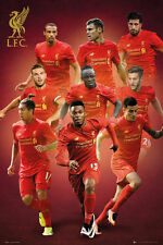LIVERPOOL - 2017 PLAYERS POSTER - 24x36 - FOOTBALL SOCCER 34153