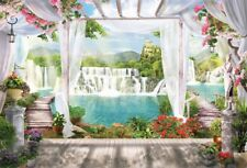 Photography  Scenic Background Props Waterfall Backdrops Studio  Vinyl 7x5ft