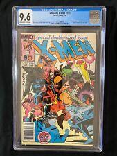 Uncanny X-Men #193 CGC 9.6 (1985) RARE Newsstand - 1st app of Warpath in costume