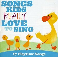Various Artists, Kid - Songs Kids: 17 Playtime Songs [New CD]