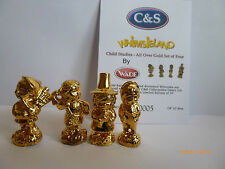 WADE WHIMSIE CHILD STUDIES ALL OVER GOLD LE 10 SETS