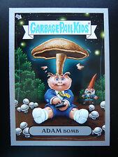 GPK Flashback 3 Silver Border Card Adam Bomb Adam Mania #4 Garbage Pail Kids FB3