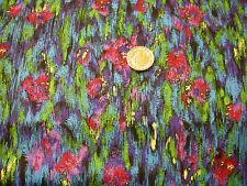 Cotton Fabric Robert Kaufman Gallery Basics 12487 floral art design quilting