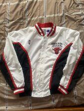 Used Vintage Chicago Bulls Warm-Up Jacket Champion Size Large 1997
