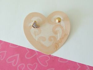 Brighton Massandra BUTTERFLY Reversible Post Silver Gold Earrings New Tag $44