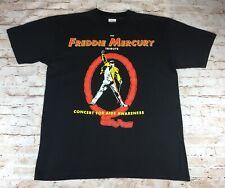 Freddie Mercury (Queen) Official Vintage Tribute Concert T-shirt - 1992 - Rare
