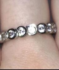 Eternity Ring Simulated Diamond