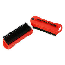 2 Pc Fingernail Double Sided Brush Magnet Scrubbing Nail Hand Scrub Cleaning