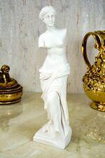 Alabaster Athene G/öttin der Weisheit Figur Skulptur 16 cm wei/ß