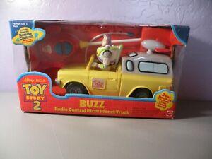 Toy Story 2 Buzz Lightyear RADIO CONTROL Pizza Planet Truck RC Car Sealed NIB B
