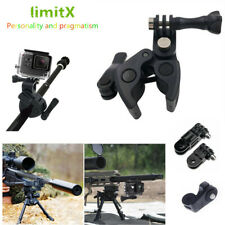 Gun Fishing Rod Bow Archery Rifle Barrel Fixing Clamp Mount for Action Camera