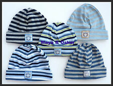 Unbranded Striped 100% Cotton Baby Caps & Hats