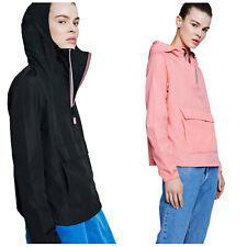 Hunter Ladies Original Shell Windbreaker Womens Coat Jacket Wind Resistant Hood