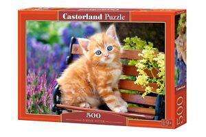 Castorland B-52240 Puzzle Ginger Kitten Rothaarig Kätzchen Katze Tiere 500 Teile