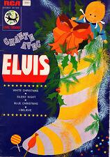 """ELVIS PRESLEY  LIVRE-DISQUE  RCA  1976  """" CHANTE AVEC ELVIS """""""