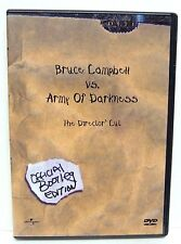 Army of Darkness (DVD, 2001, Director's Cut: Bootleg Edition) Bruce Campbell