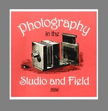 c1886 BIBLE of Photography In Studio and Field  $10