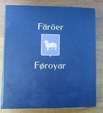 FAROE ISLANDS - FINE HINGELESS LIGHTHOUSE ALBUM - ALL PAGES COMPLETE 1940/2002
