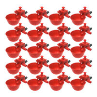 20PCS Pigeon Drinking Bowl Plastic Automatic Durable Waterer for Chicken Quail