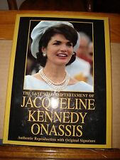 The Last Will and Testament of Jacqueline Kennedy Onassis Authentic Reproduction