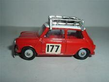 CORGI TOYS BMC Mini Cooper S Monte Carlo Rallye playworn Vintage (vedi foto)