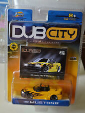 Jada Toys Dub City Ford Mustang Collector #056 Yellow New