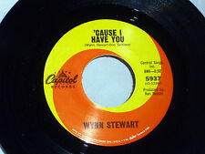Stewart Wynn: Cause I Have You / That's the Only Way to Cry  [Unplayed Copy]