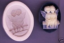 40x30mm Cameo Angel Baby's Polymer Clay Push Mold