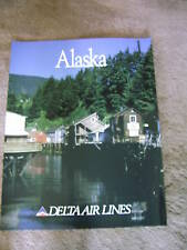 DELTA AIR LINES - ALASKA - LARGE POSTER 28 x 22    NEW